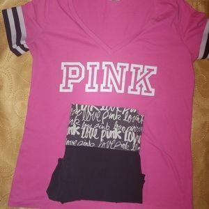 Victoria's Secret Pink Outfit sz S